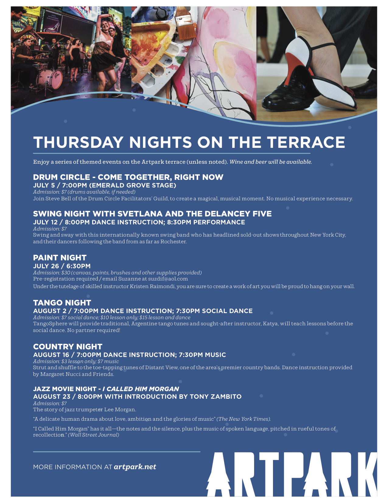 Artpark: Thursday On The Terrace - JazzBuffalo