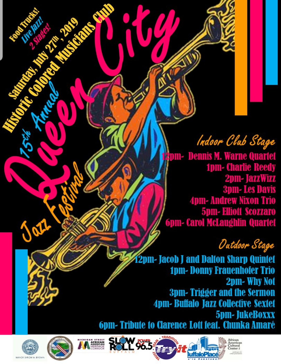 The Queen City Jazz Festival At The Historic Colored